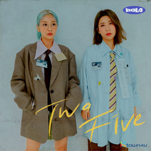 BOLBBALGAN4 - Mini Album [Two Five]