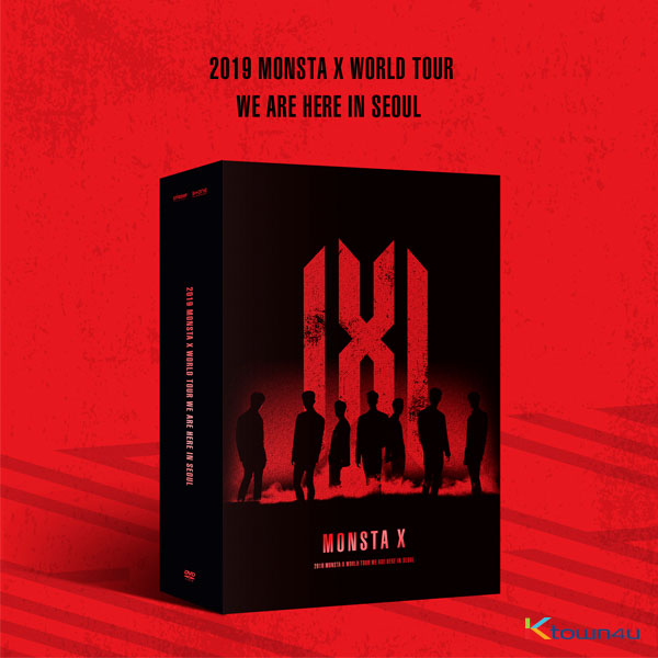 [DVD] MONSTA X - 2019 MONSTA X WORLD TOUR [WE ARE HERE] IN SEOUL DVD