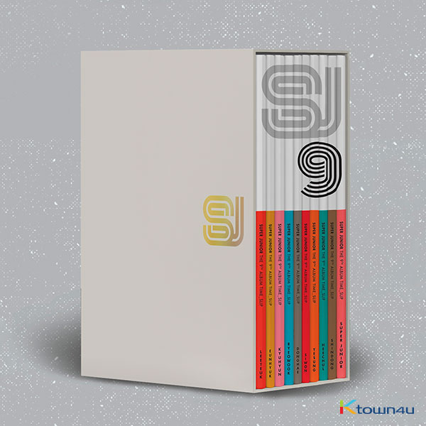 [SET][10CD SET] Super Junior - Album Vol.9 [Time_Slip] (Member Ver + Group Ver. Total 10Ver.)