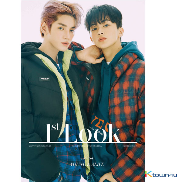 [韓国雑誌] 1ST LOOK- Vol.184 (Back Cover : NCT 127 TaeYong & Mark)