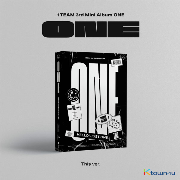 1TEAM -  ミニアルバム 3集 [ONE] (This Ver.)