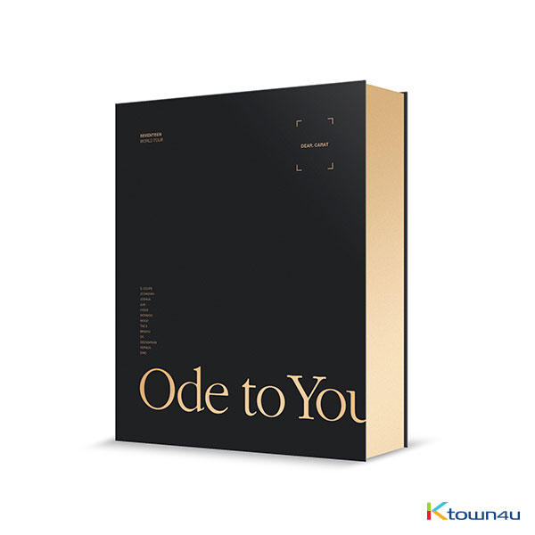 【韓国盤】[DVD] Seventeen - SEVENTEEN WORLD TOUR [ODE TO YOU] IN SEOUL DVD