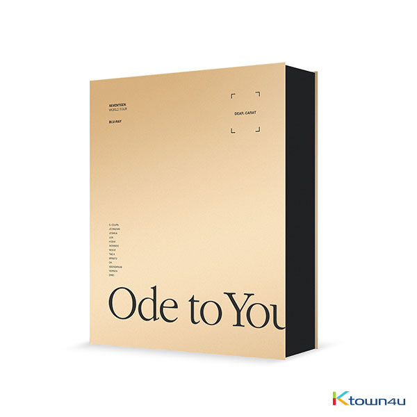 【韓国盤】[Blu-Ray] Seventeen - SEVENTEEN WORLD TOUR [ODE TO YOU] IN SEOUL  BLU-RAY