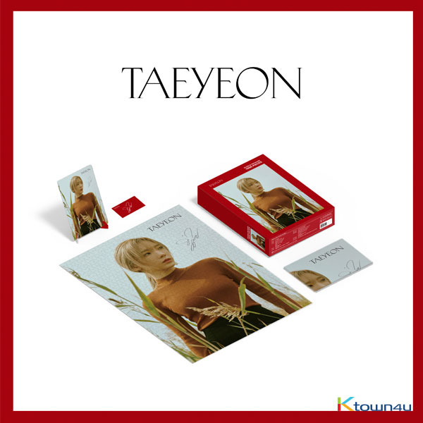 TAEYEON - Puzzle Package Limited Edition