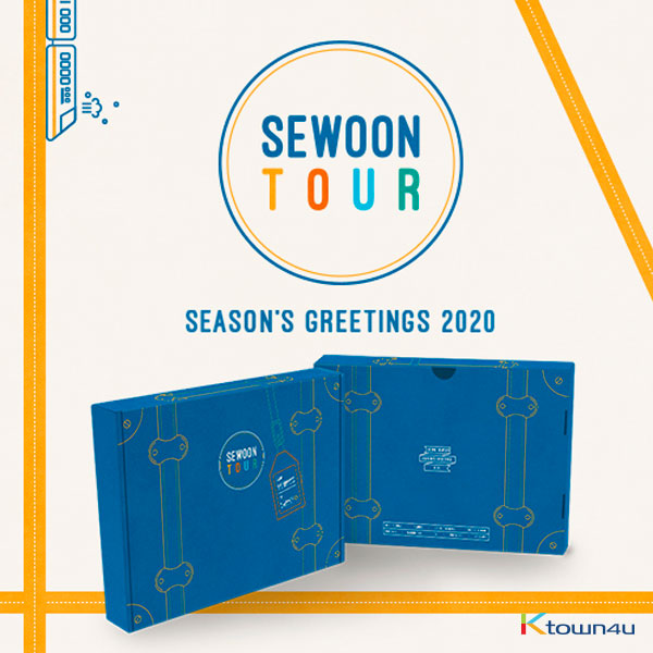 【韓国盤】 Jeong Se Woon - 2020 SEASON'S GREETINGS