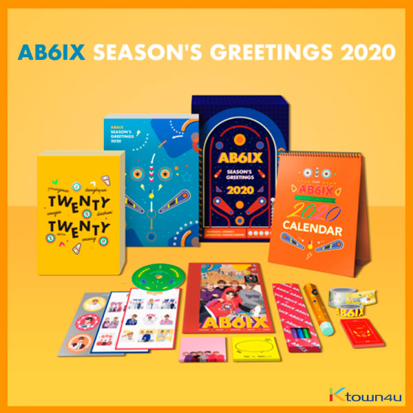 【韓国盤】 AB6IX - 2020 SEASON'S GREETINGS