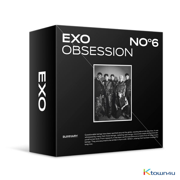 EXO - 正規アルバム 6集 [OBSESSION (OBSESSION Ver.)] (Kit Ver) *EMSの場合、1点までご注文可能(佐川は制限なし)