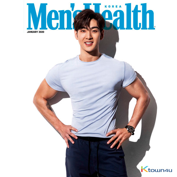 [Magazine] Men`s Health 2020.01 B Type (NU`EST : BAEK HO)