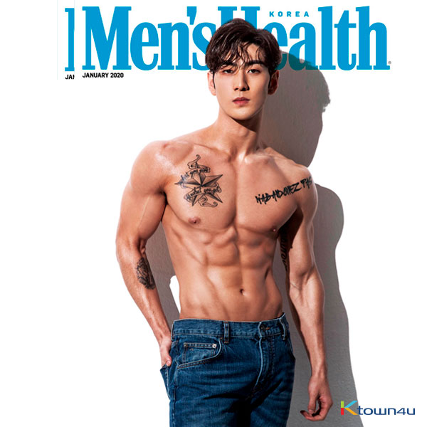 [Magazine] Men`s Health 2020.01 C Type (NU`EST : BAEK HO)