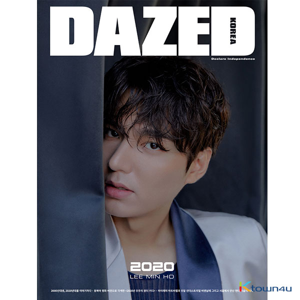 [韓国雑誌] Dazed & Confused Korea 2020.01 B Type (LEE MIN HO)