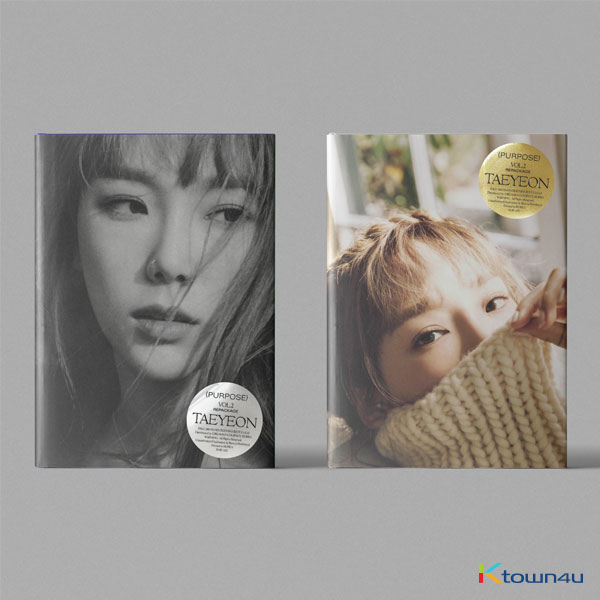 TAEYEON - 正規アルバム 2集 Repackage [Purpose] (Random Ver.)