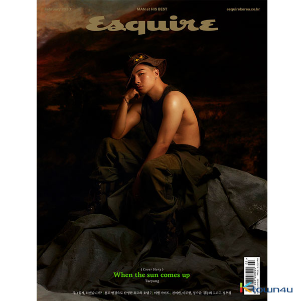ESQUIRE 2019.02 C Type (Taeyang)