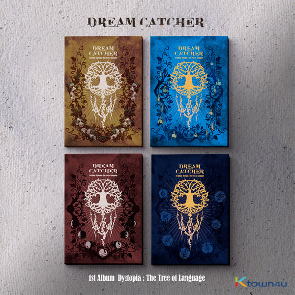 [4CDセット] DREAMCATCHER  - 正規アルバム 1集 [Dystopia : The Tree of Language] (E Ver. + V Ver. + I Ver. + L Ver.)