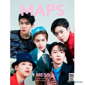[韓国雑誌] Maps 2020.03 B Type (AB6IX)
