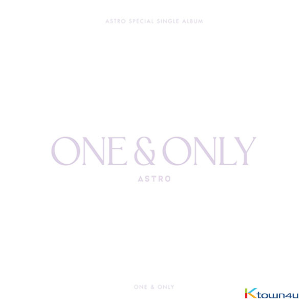 ASTRO - スペシャルシングルアルバム [ONE&ONLY] (Limited Edition)