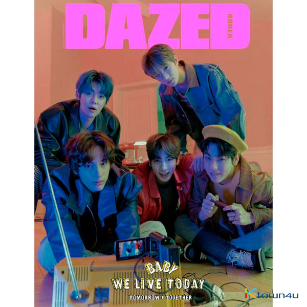 [韓国雑誌] Dazed & Confused Korea Spring Edition 2020 (TXT)