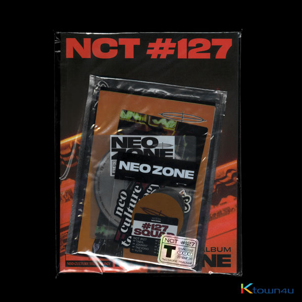 NCT 127 - Album Vol.2 [NCT #127 Neo Zone] (T Ver.)  *will be sent sequentially from 10th Apr.