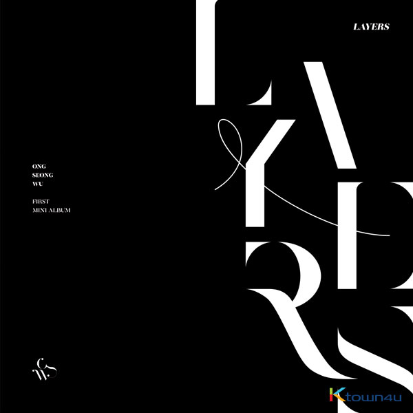 Ong Seong Wu - Mini Album Vol.1 [LAYERS] (BLACK Ver.)