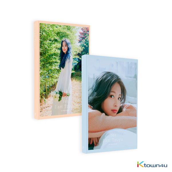 [Photobook] Tzuyu - 1ST PHOTOBOOK [Yes, I am Tzuyu] (Blue Ver.)