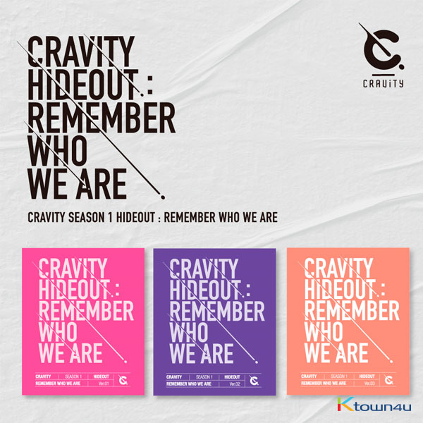 [SET][3CD SET] CRAVITY - Album SEASON1. [HIDEOUT: REMEMBER WHO WE ARE] (Ver.1 + Ver.2 + Ver.3)