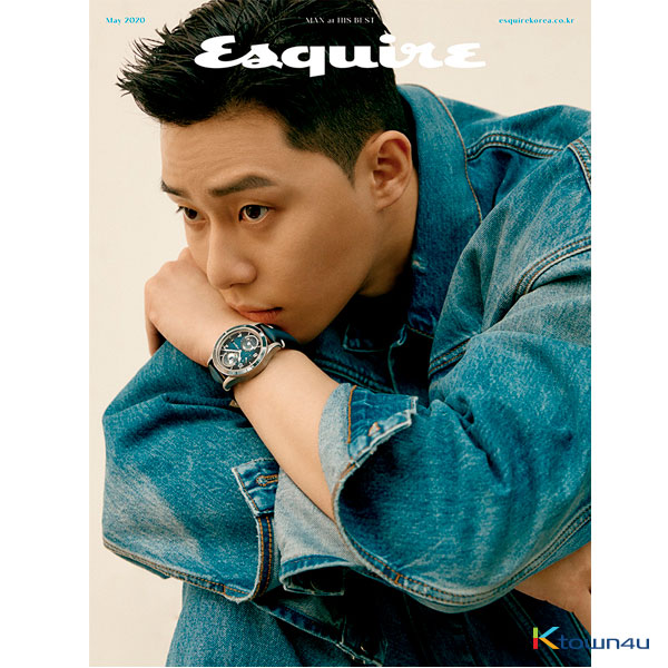 ESQUIRE 2020.05 (Park Seo Jun)