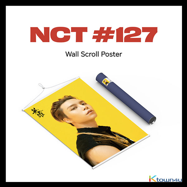 NCT 127 - Wall Scroll Poster (Johnny ver)