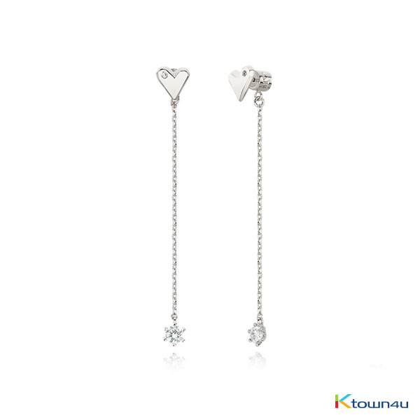 Nuovo Heart Drop Earrings
