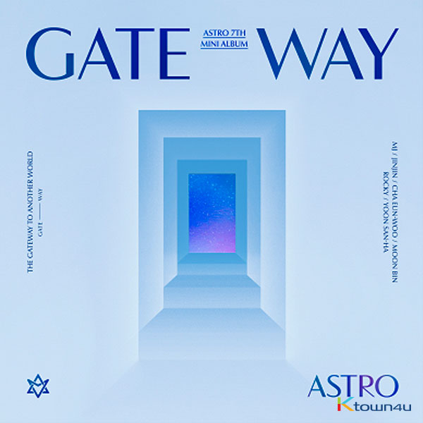 [js_O223] ASTRO - ミニアルバム 7集 [GATEWAY] (ANOTHER WORLD Ver.)