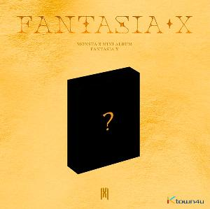 MONSTA X - Mini Album [FANTASIA X] (Kit Album) *Due to the built-in battery inside, only 1 item can be shipped per package