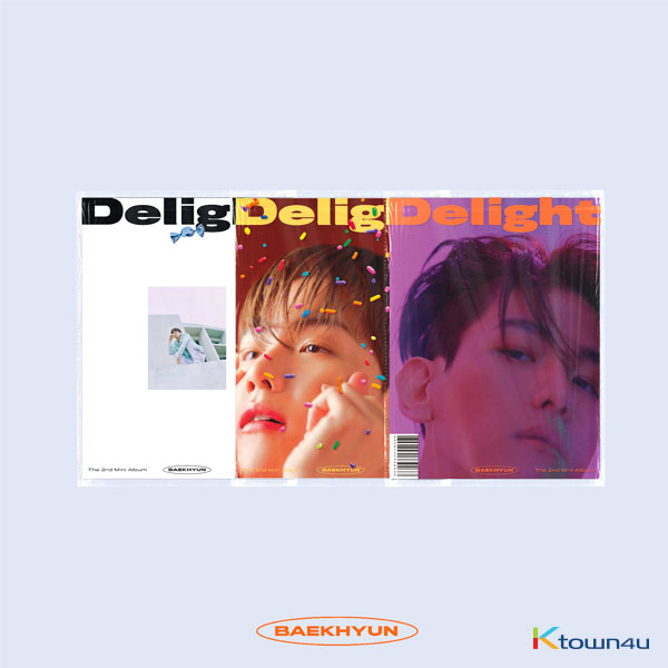 BAEK HYUN - Mini Album Vol.2 [Delight] (HONEY Ver.)