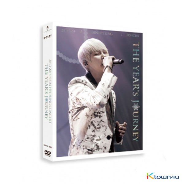 [DVD] SHIN HYE SUNG - 2013~2014 SHIN HYE SUNG CONCERT THE YEAR'S JOURNEY DVD