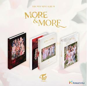 TWICE - Mini Album Vol.9 [MORE & MORE] (B Ver.)