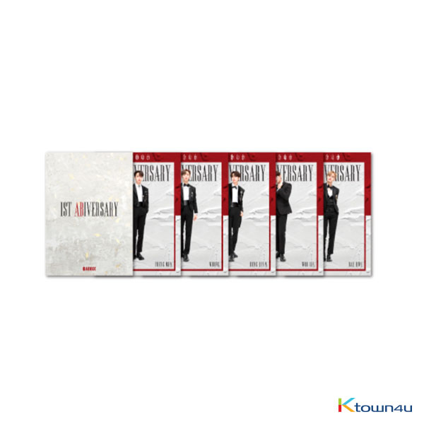 AB6IX - 1ST ABIVERSARY MINI POSTER SET (*Order can be canceled cause of early out of stock)