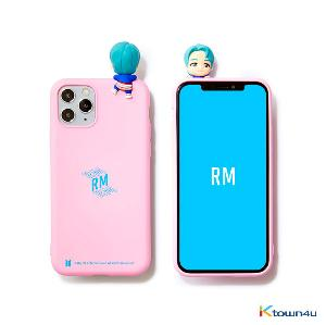 BTS- BTS Character Figure Color Jelly Case_Stairs (RM)