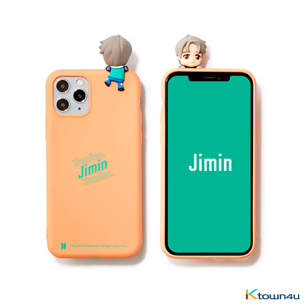 BTS- BTS Character Figure Color Jelly Case_Stairs (JIMIN)