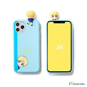 BTS- BTS Character Figure Color Jelly Case_Peek-a-boo (JIN)