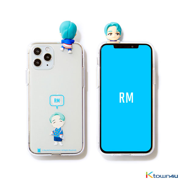 BTS- BTS Character Figure Jelly Case_Ballon (RM)