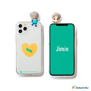 BTS- BTS Character Figure Jelly Case_Heart (JIMIN)