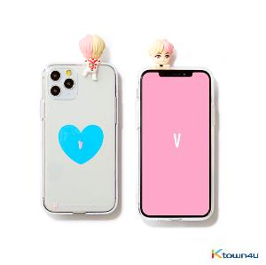 BTS- BTS Character Figure Jelly Case_Heart (V)