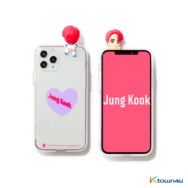 BTS- BTS Character Figure Jelly Case_Heart (JUNG KOOK)