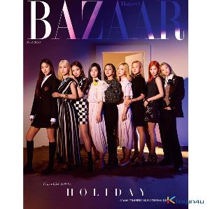 [韓国雑誌] HARPER`S BAZAAR 2020.07 (TWICE GROUP) *Cover Poster gift 1p