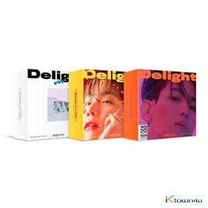 BAEK HYUN - Mini Album Vol.2 [Delight] (Kit Ver.) (Random Ver.) *Due to the built-in battery of the Khino album, only 1 item could be ordered and shipped at a time.
