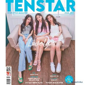 [韓国雑誌] 10+STAR 2020.07 (Cover : Lovelyz)