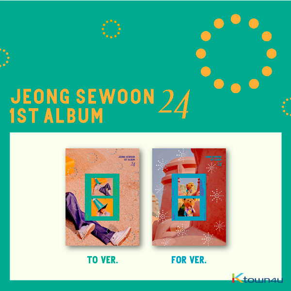 Jeong Se Woon - Album Vol.1 [<24> Part.1] (Random Ver.)