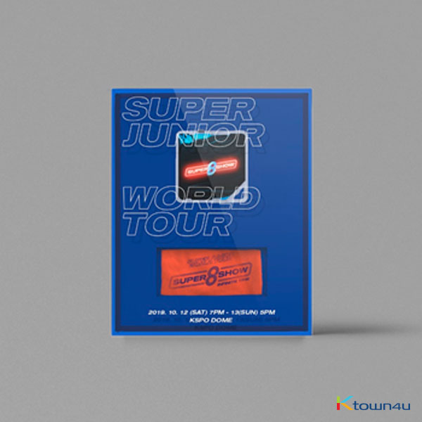 [All for KYUHYUN] SUPER JUNIOR WORLD TOUR [SUPER SHOW 8 : INFINITE TIME] キットビデオ