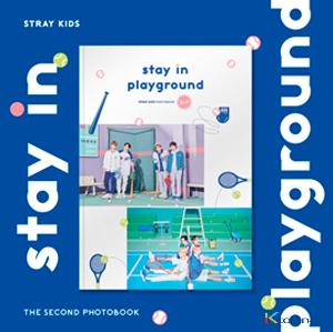 [フォトブック] STRAY KIDS 2nd PHOTOBOOK [stay in playground] (特典:トレカ1枚)