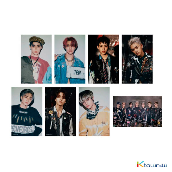 WayV - Awaken the world 4X6 PHOTO SET