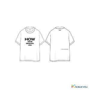 WOODZ - HOW T-SHIRTS [25TH BIRTHDAY LIMITED MD]