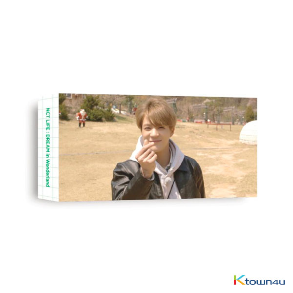 NCT DREAM - [JENO] NCT LIFE : DREAM in Wonderland Flipbook + Photo card SET
