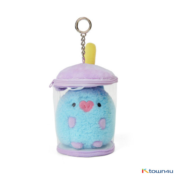 [BT21] lineFriends BT21 MANG BABY Buckle Bubble Tea Back Cham